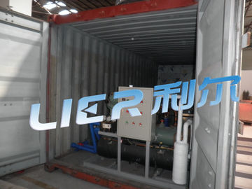 Cina 5 Tons/Day Containerized Block Ice Machine Stainless Steel Material pabrik